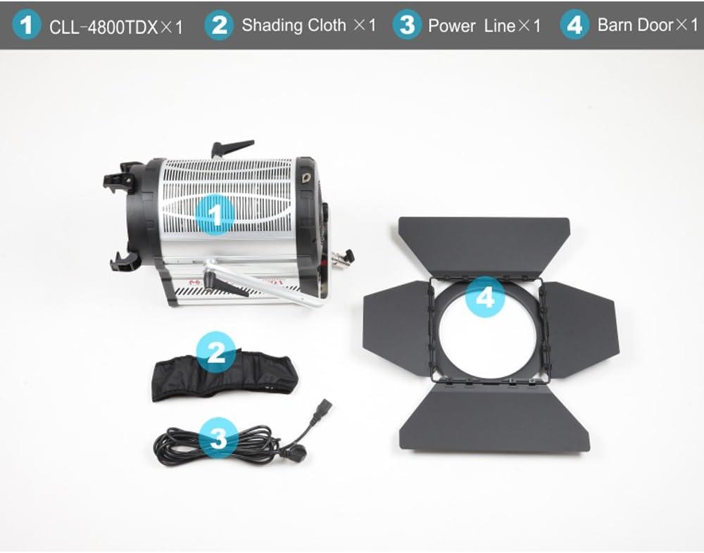 Falcon Eyes CLL-4800TDX 480W LEDs Video Light Adjustable 3000-8000K Bi-Color Stepless DMX System