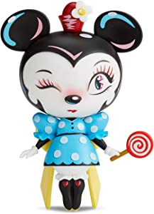 Enesco World of Miss Mindy Presents Disney Designer Collection Minnie Mouse Vinyl Figurine, 7