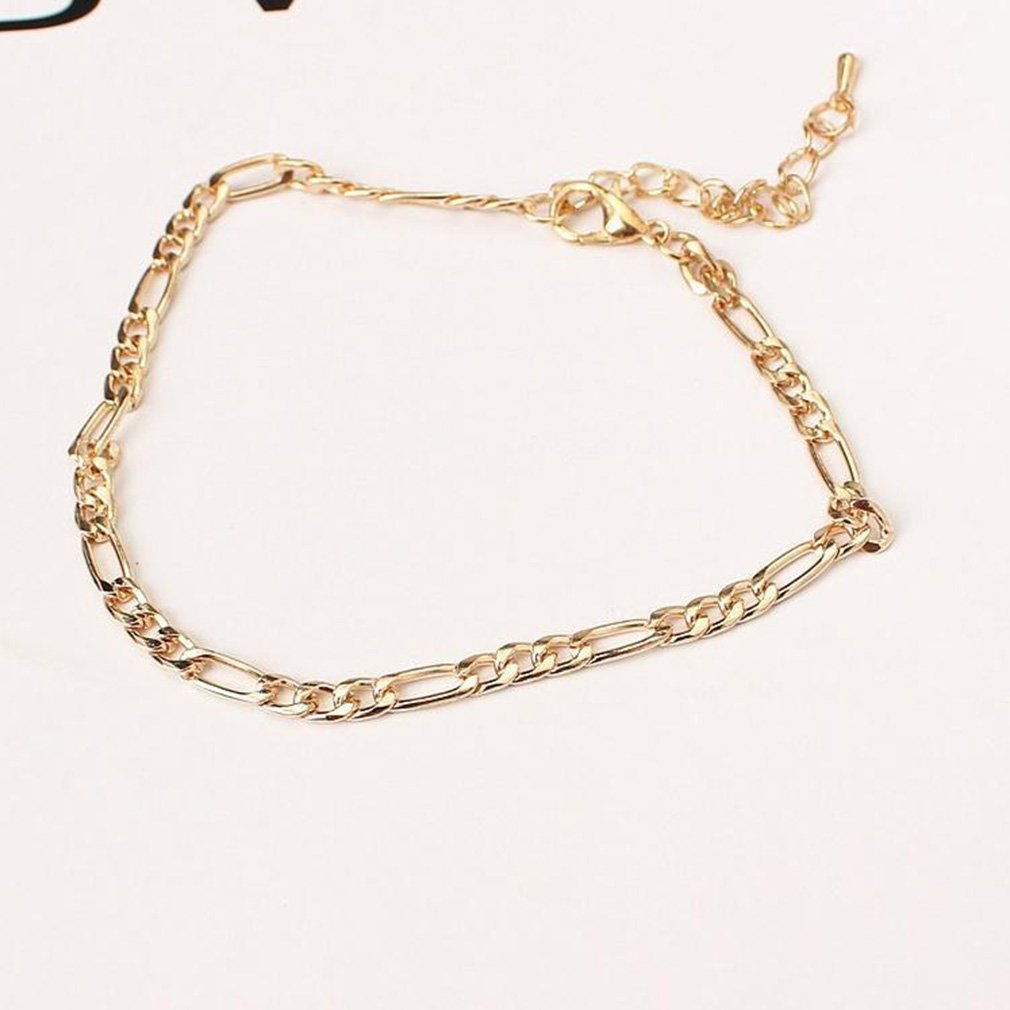 GUAngqi Simple Style Women Ankle Chain Anklet Bracelet Barefoot Foot Jewelry Beach Accessories