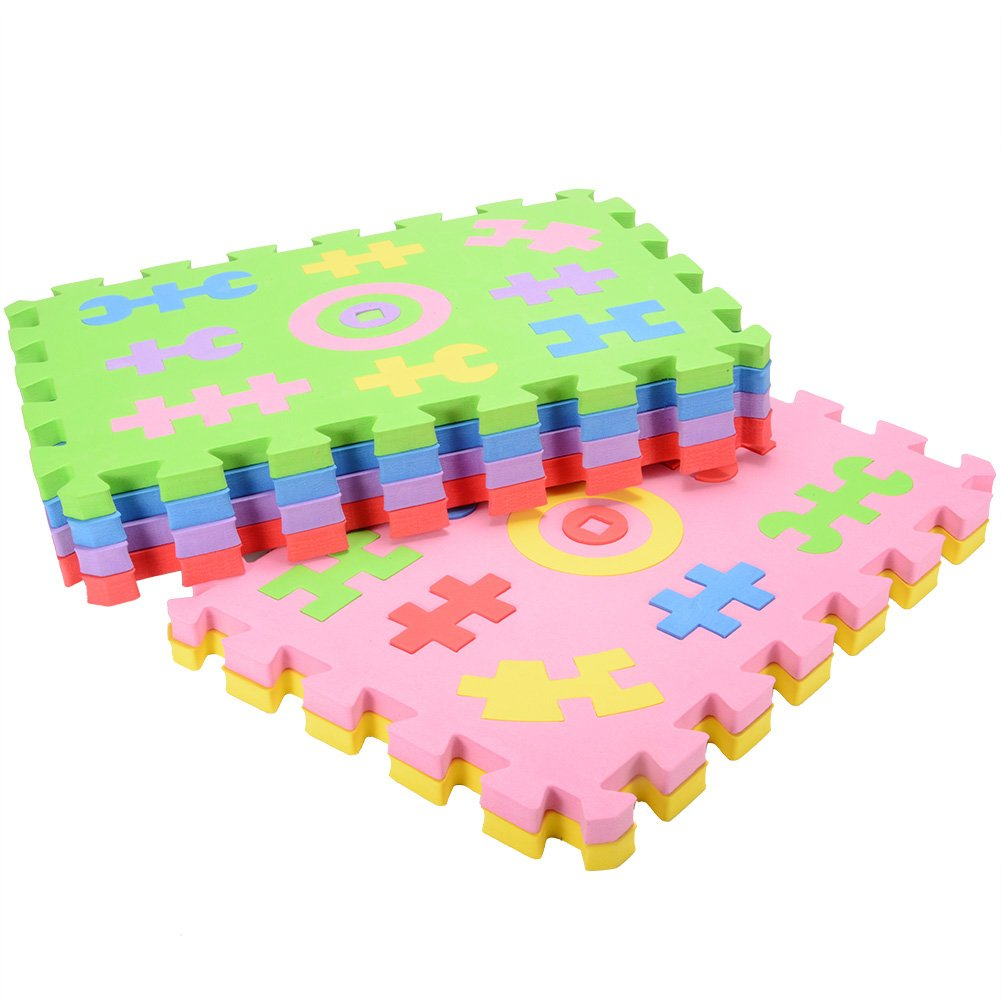 ThinkMax Children EVA Foam Puzzle Play Mat Number Learning Mat