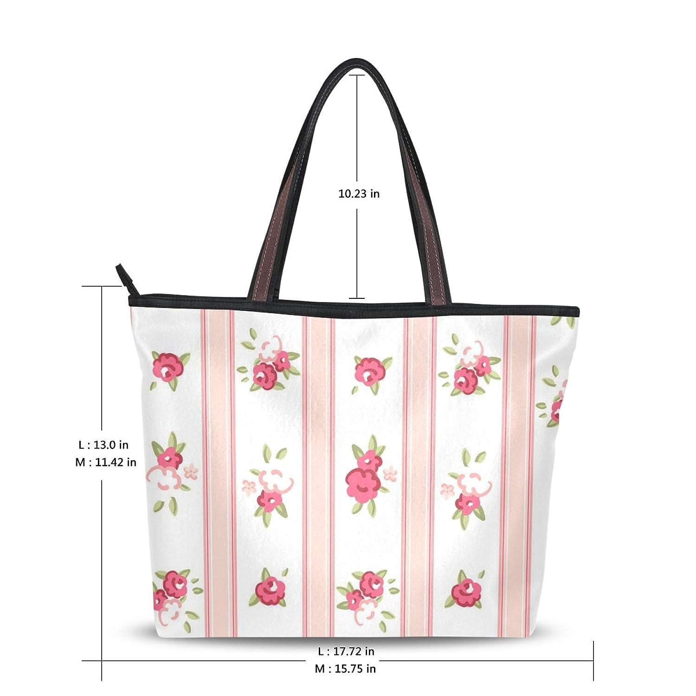 Women's New Fashion Handbag Shoulder Bags,Shabby Chic Floral,Tote Bag