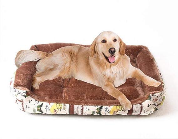 Cama para Mascotas Cálida para el Invierno Nido para Mascotas Nido extraíble y Lavable Cesta para Mascotas de Lujo (Color : Gray, Tamaño : 80cm): Amazon.es: ...