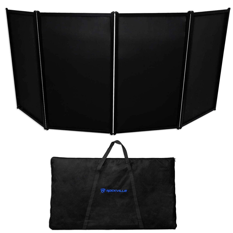 Rockville RFAAB DJ Event Facade Light Weight Metal Frame Booth+Travel Bag+Scrim Audiosavings