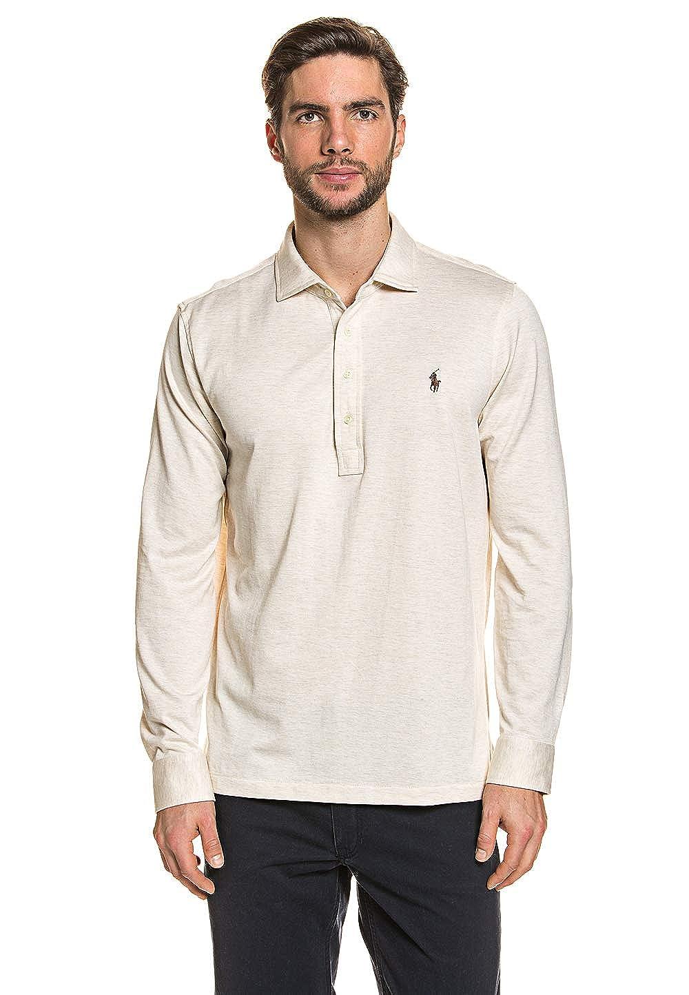 Polo Ralph Lauren MenŽs Polo Shirt Heather, tamaño:S: Amazon.es ...