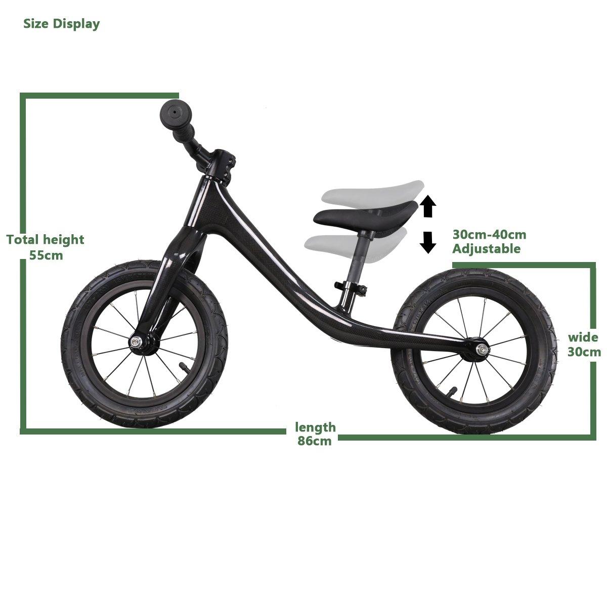 ICAN No-Pedal Carbon Balance Bike Kids Balance Walking Bicycle Age to 2-4 Years Kids