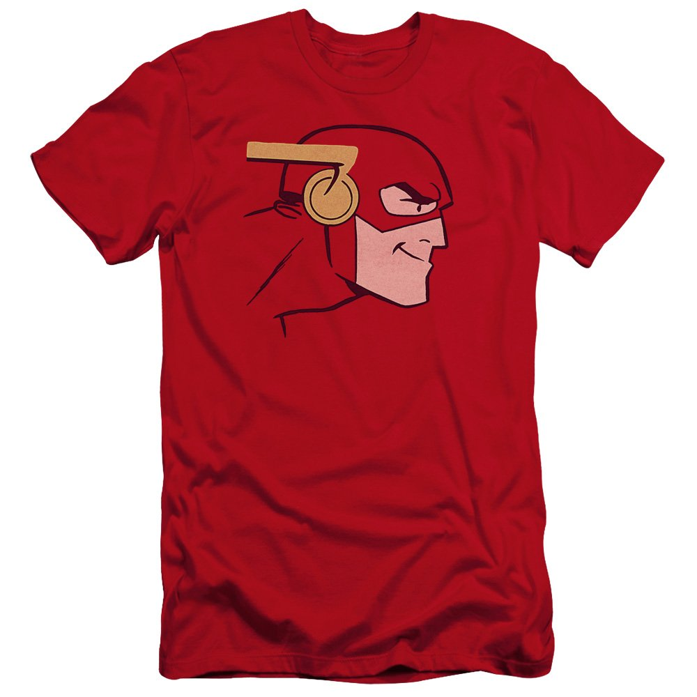 Jla Cooke Head Premium Adult Slim Fit T-Shirt