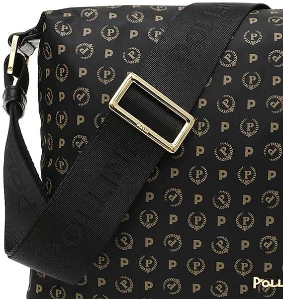Pollini Borsa Donna Nero TE8400PP02Q6100A: Amazon.it