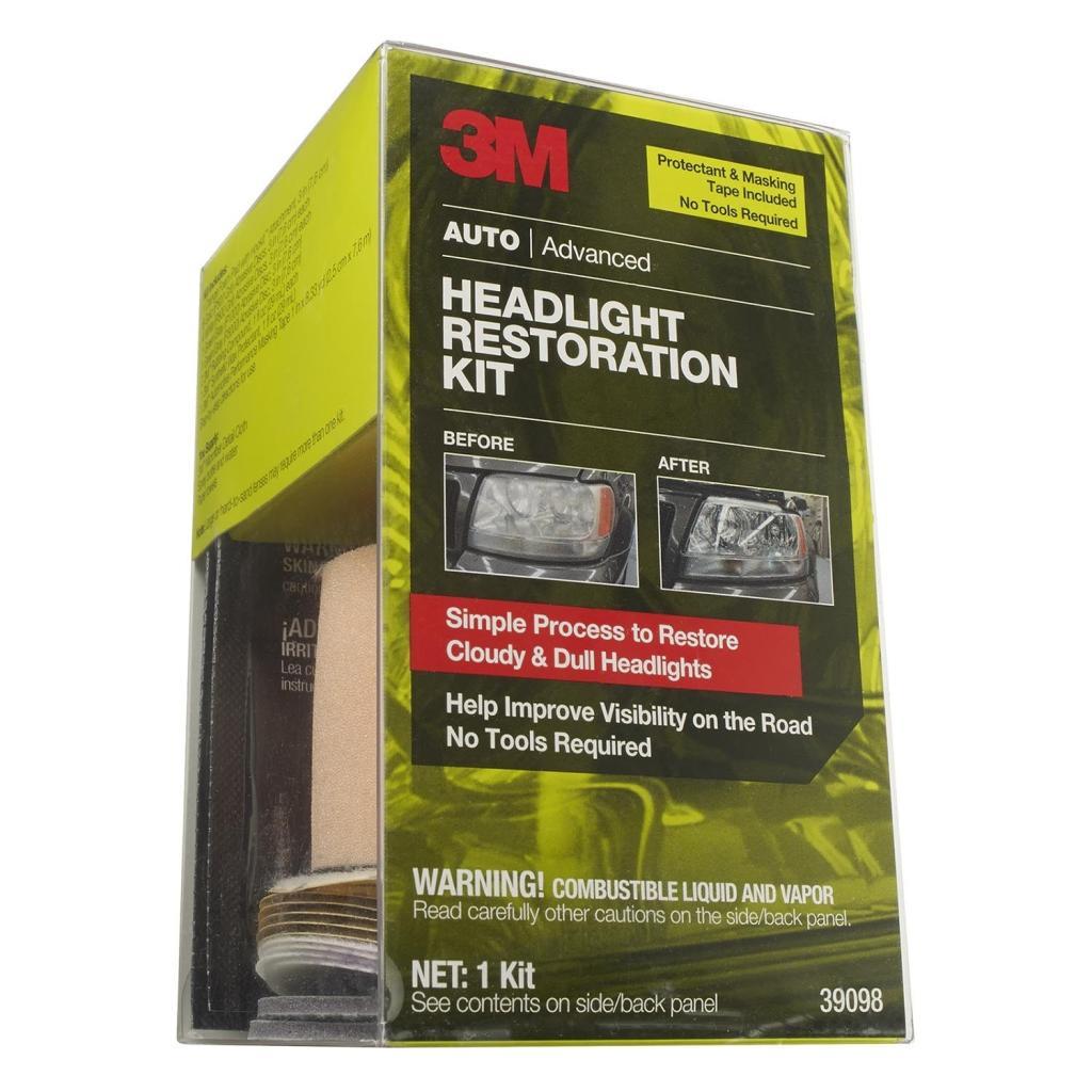 Auto Headlamp Polishing: Amazon.com: 3M 39098 Headlight Restoration Kit With Tape