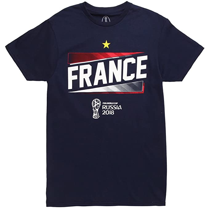 huge discount 839c6 433bb Fifth Sun World Cup 2018 France Slanted Adult T-Shirt