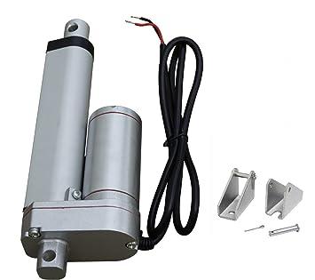 ECO-WORTHY 100MM 12 V Motor lineal actuador bigdug seguidor Solar multi-función para Electroic, médico, uso auto: Amazon.es: Electrónica