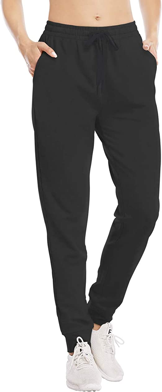 IMUZYN Joggers for Women Active Sweatpants with Pockets High Waisted Workout Sports Yoga Pants Athletic Running Lounge Pants