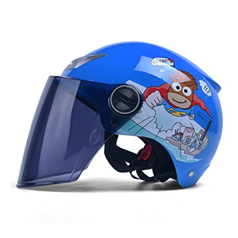 Cascos de motocross Casco de seguridad de bicicleta de casco de niños de verano casco y