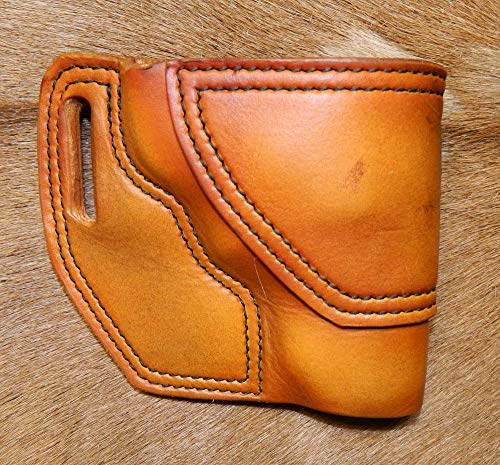 Gary C's Leather OWB Avenger RH Leather Holster for the S&W K Frame 2-1/2