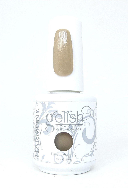 Gelish Soak Off Gel Nail Polish, Taupe Model, 0.5 Ounce