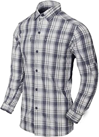 Helikon-Tex Hombre Trip Camisa Indigo Plaid