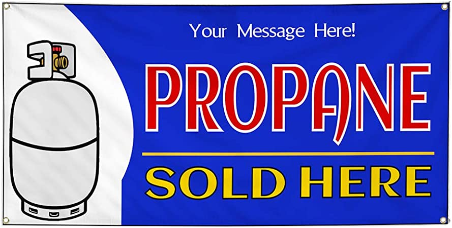 Custom Industrial Vinyl Banner Multiple Sizes Open Style C Personalized Text Here Business Outdoor Weatherproof Yard Signs Blue 10 Grommets 48x120Inches