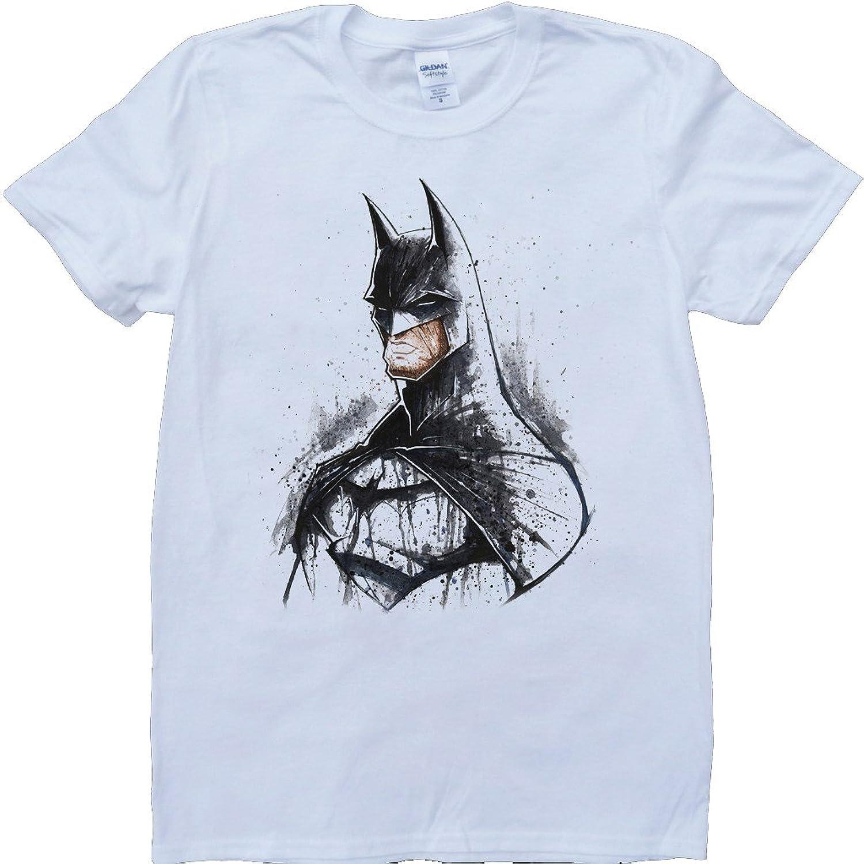 Batman Short Sleeve Crew Neck Custom Made T-Shirt