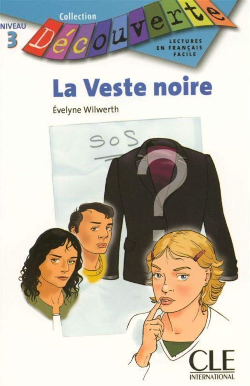 Download La Veste Noire (Level 3) (English and French Edition) ebook