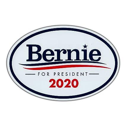 amazon com oval magnet bernie sanders for president 2020