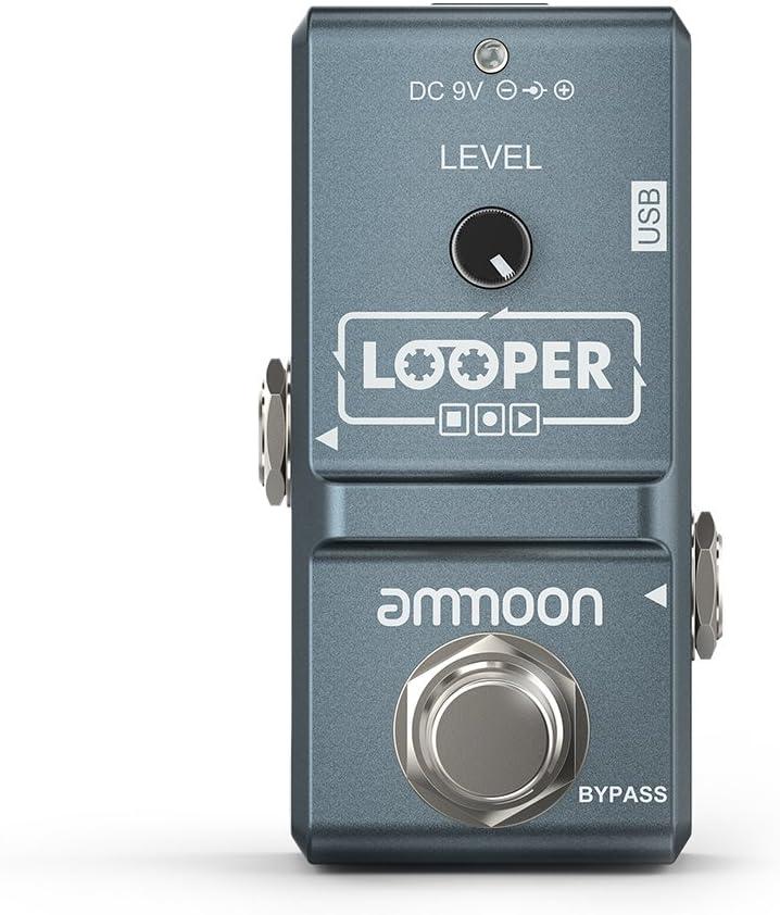 ammoon Nano Series Gitarren Effekt Pedal Heavy Metal Musik EffektgeräT S5A9