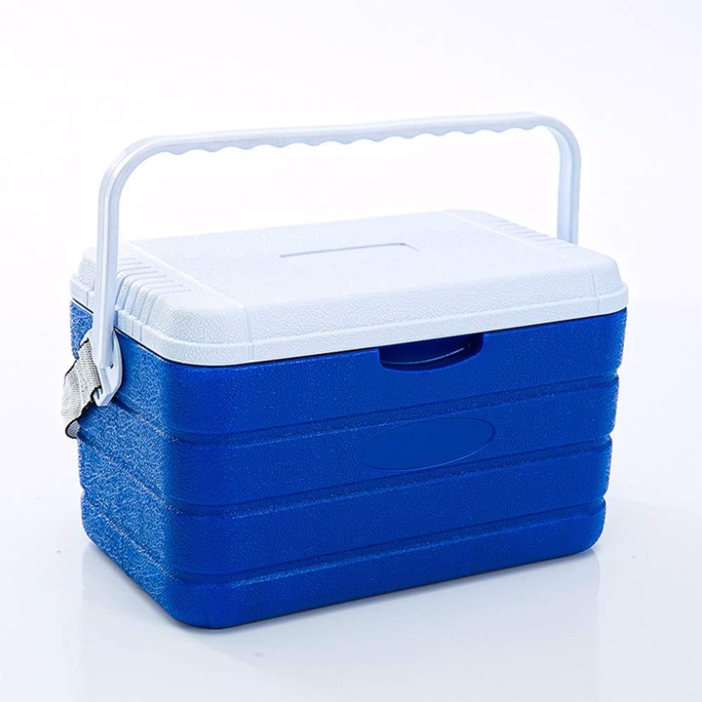 Cooler Box Outdoor Pull Rod Wheel 10L PU Cooler Box Medical Drug Refrigerator Cold Chain Transport Box 37.5  23  22CM