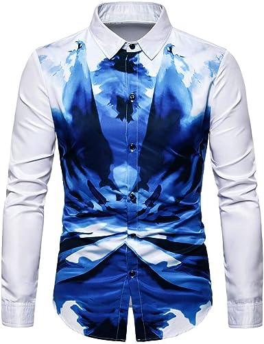 Poachers Camisas de Hombre Camisas Hawaianas Hombre flamencos Camisas Hombre Manga Larga Tallas Grandes Camisas Hombre Verano Camisetas Hombre Originales Divertidas: Amazon.es: Ropa y accesorios