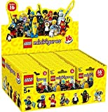 Lego Series 16 Minifigures 71013 Case of Blind Bags, Lot of 60 Mini Figures