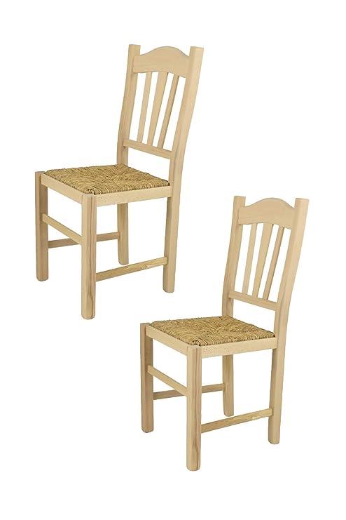 Tommychairs sedie di Design - Set 2 sedie Classiche Silvana per ...