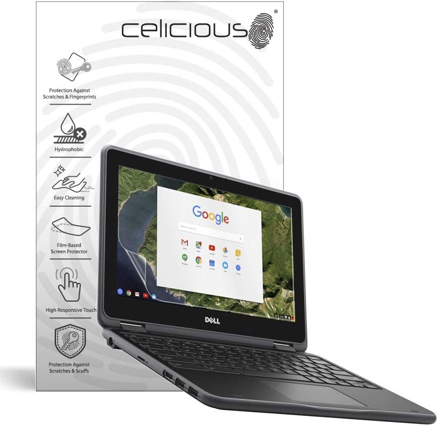 Pack of 2 Touch Celicious Vivid Plus Mild Anti-Glare Screen Protector Film Compatible with Dell Latitude 11 3190