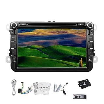 Pupug coche est¨¦reo DVD GPS Bluetooth IPod RDS TV Radio Para Volkswagen VW