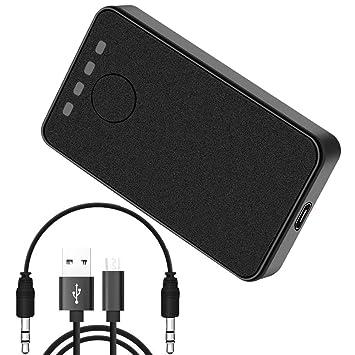 Bluetooth 4.2 Drahtloser Empfänger Sender Adapter: Amazon.de ...