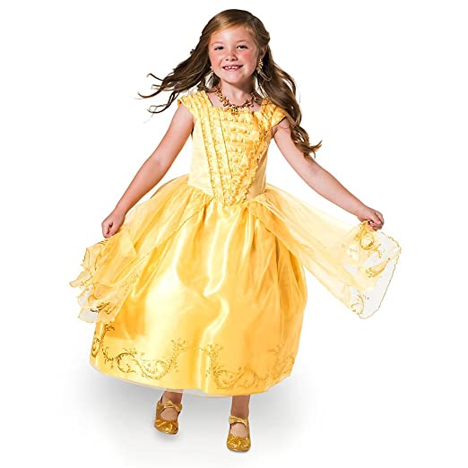 Amazon.com Disney Belle Costume for Kids - Beauty and the Beast - Live Action Film Clothing  sc 1 st  Amazon.com : belle gown costume  - Germanpascual.Com