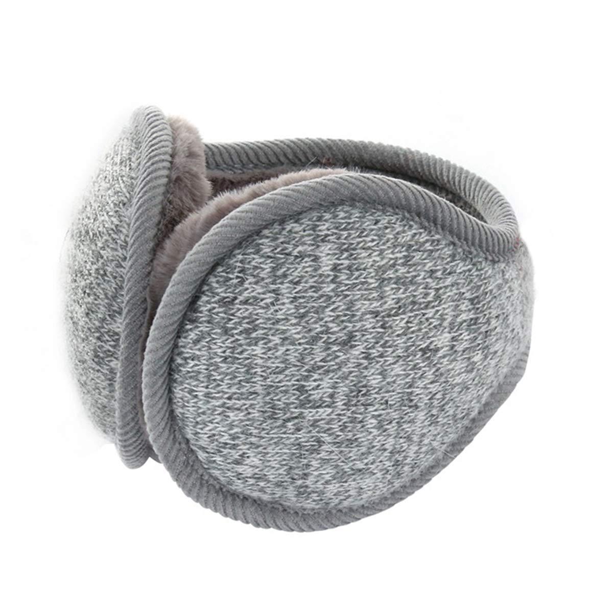 Poemay Winter Outdoor EarMuffs Earwarmer Unisex Fluffy Ear Cover Foldable