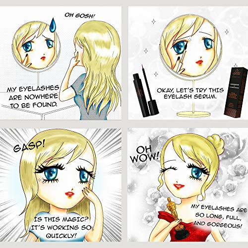 Eyelash Growth Enhancer Serum and Conditioner 4 milliliters by Luxe Lash by Lescale (Image #4)