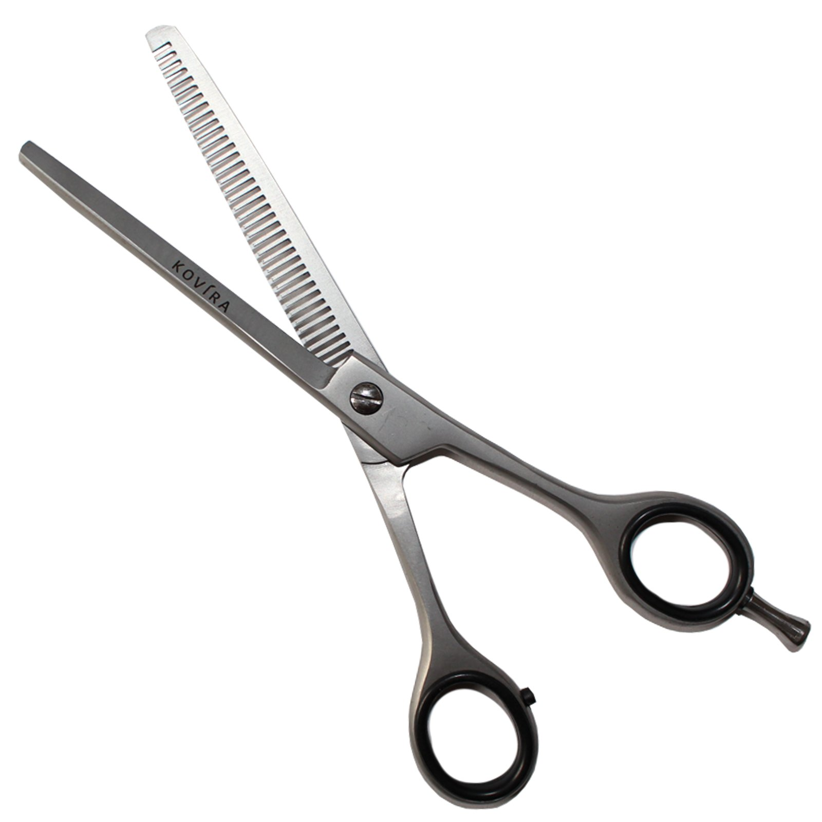Professional Hairdressing Scissors/Thinning Shears/Hair scissors - Barber Hair Cutting Scissors for Thinning/Texturing Scissors - Razor Sharp Japanese Stainless Steel & Fine Adjustment Tension Screw by Kovira (Image #4)