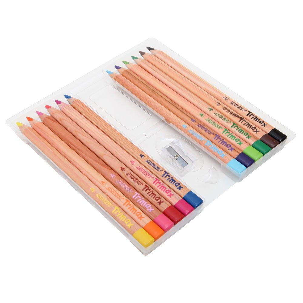 Alpino-490251 Pack de 12 lápices, Colores Surtidos, (Industrias Massats 113)