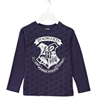 HARRY POTTER Niños Camiseta de Manga Larga