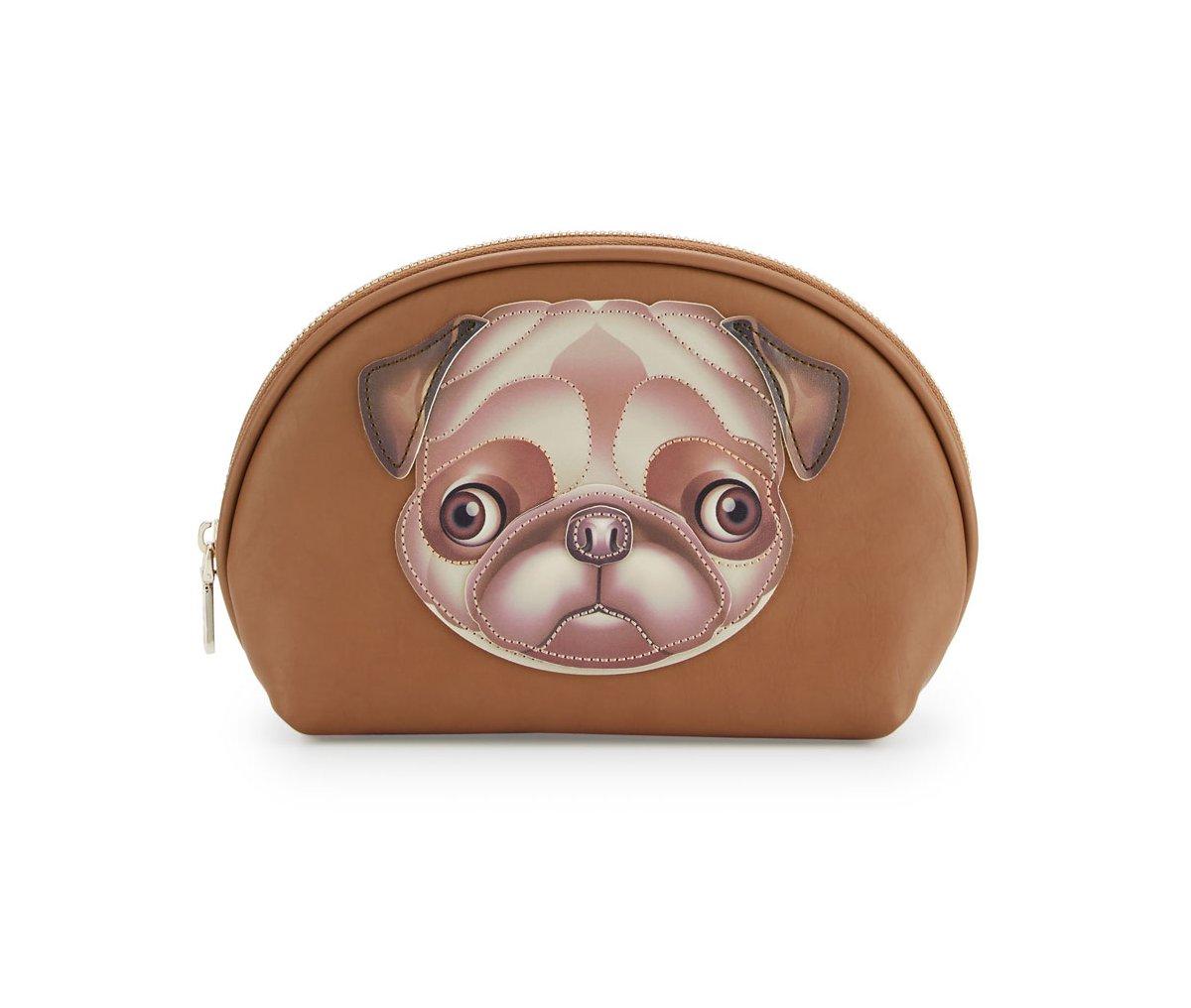 Love Moschino I Love Puppy Cosmetic Case, Bulldog