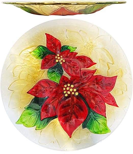 Amazon.com: Comfy Hour Xmas Holiday - Plato de cristal ...