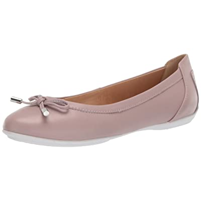 Geox Women's Charlene 27 Round Toe Ballet Flat with Bow | Flats
