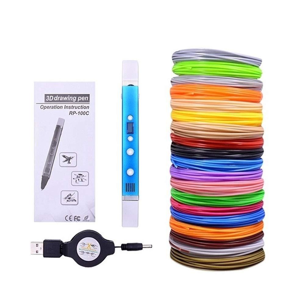 H.Y.FFYH Imprimir Pen Impresora 3D Pluma DIY 3D de impresión USB ...