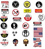 28 pack of Crude Humor Hilarious Hard Hat Prank Decal Joke Sticker Funny Laugh Construction LOL