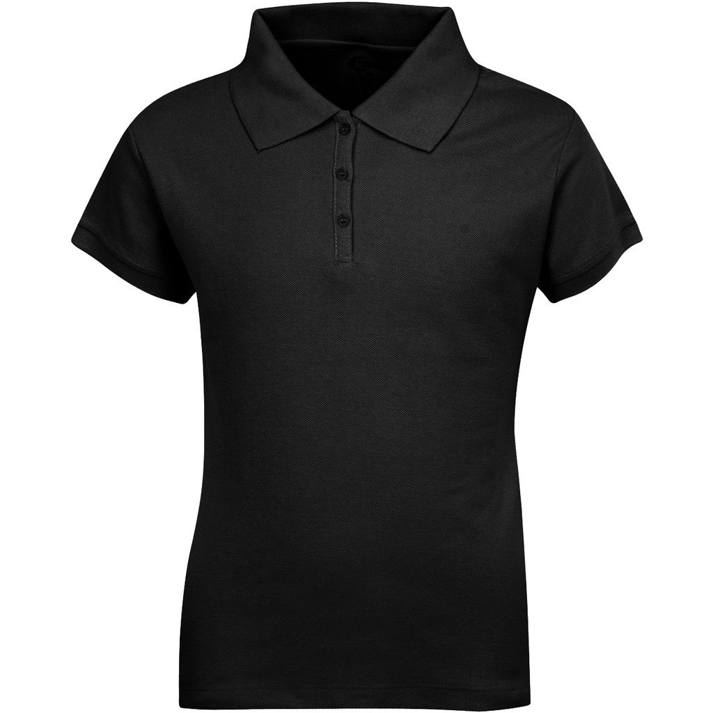 Premium Short Sleeves Junior Polo Shirts ScotchGuard Treated Stain Resistant