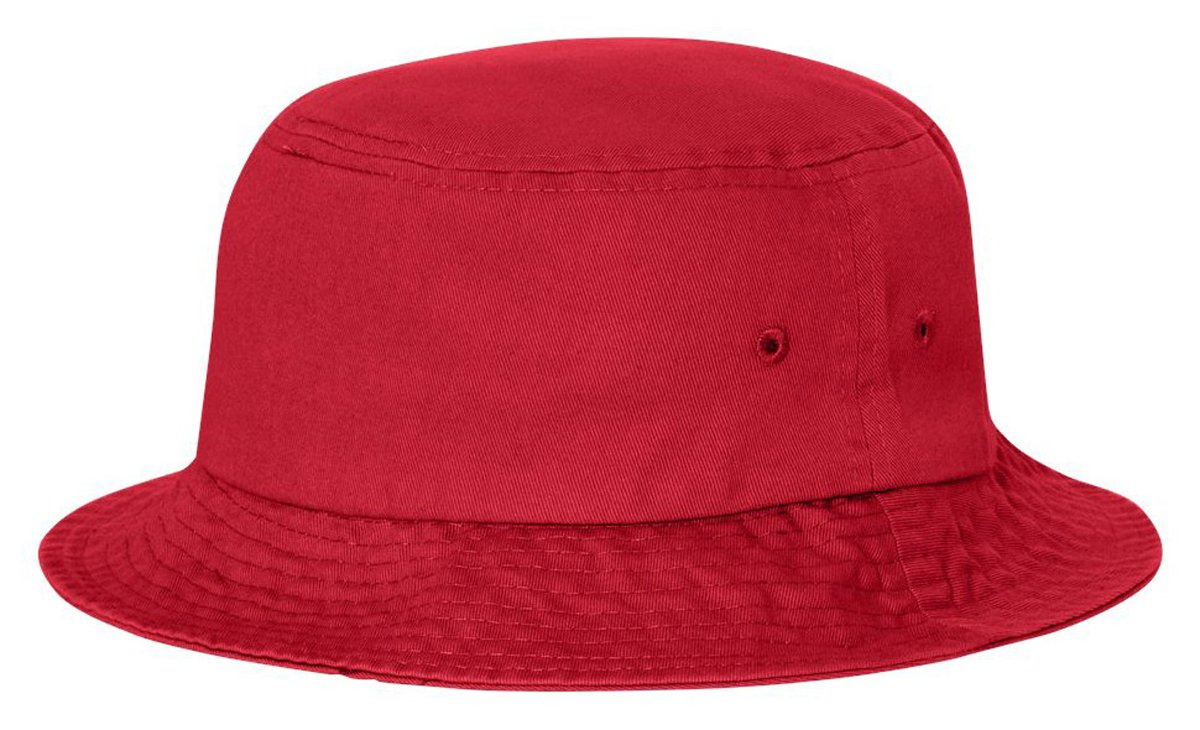 Man Sports Sportsman Cotton Twill Summer Packable Travel Bucket Hat Black
