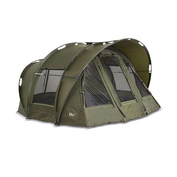 Lucx® Bivvy Leopard tienda de campaña para pesca 1-3 personas / carpa cúpula, columna de agua de 10.000 mm – tienda de campaña: Amazon.es: Deportes y aire ...