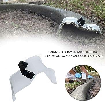 Molde Reutilizable para Hormigón,Llana de Hormigón Pavimento Molde de Piso de Concreto, Herramienta de Fijación de Barra de Cemento de Jardín de Bricolaje: Amazon.es: Bricolaje y herramientas