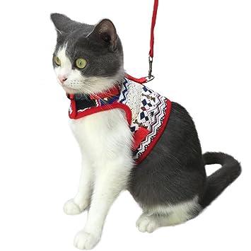 Amazon.com: KZHAREEN Arnés de gato a prueba de caídas con ...