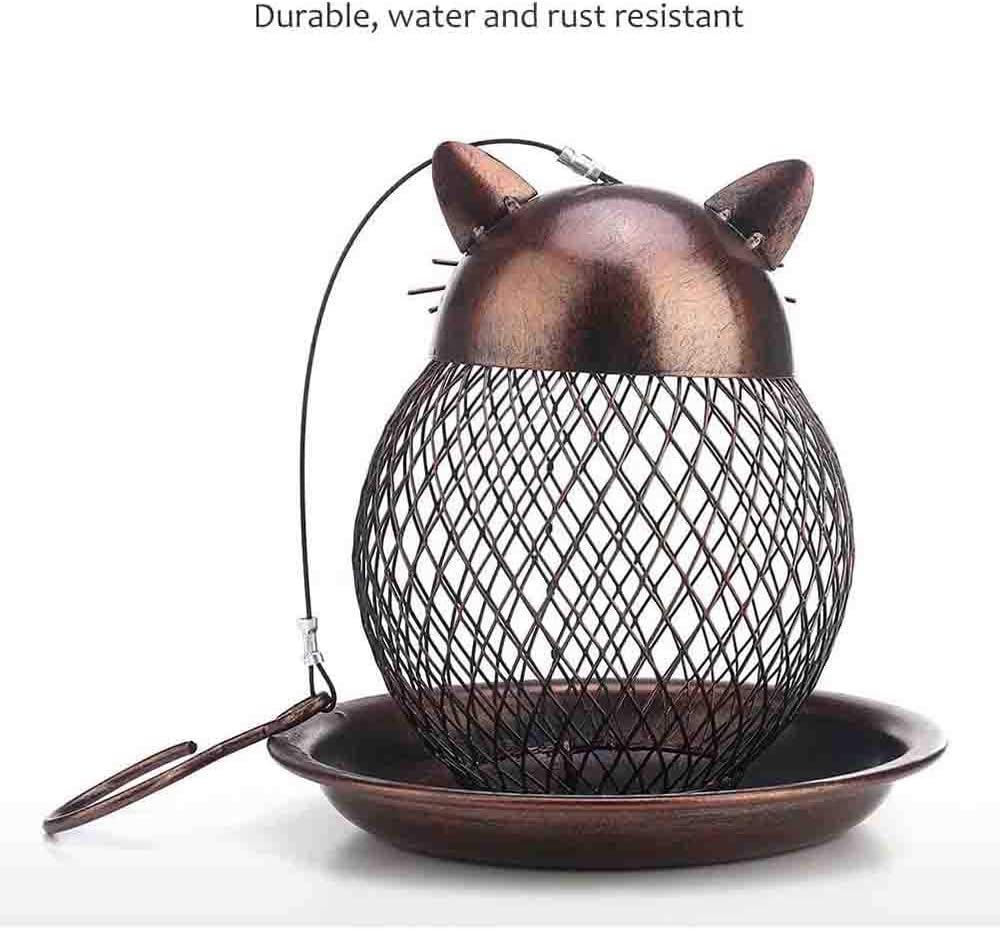 Metall Vogelfutterspender Leicht Zu Reinigen Und Replenish Essen Geeignet Fur Vogel Essen Und Ruhe Amazon De Kuche Haushalt