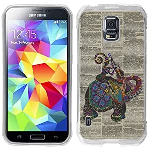 Generic Aztec Elephant Dictionary Transparent Smoke Flexible Slim Hard plastic Phone Case Cover for Iphone 4/4S