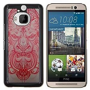 Stuss Case / Funda Carcasa protectora - Skulptur - HTC One M9Plus M9+ M9 Plus